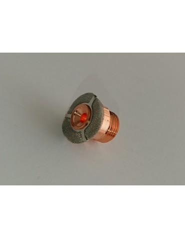 58090 - Gas saver adapter sõelaga väike 2.4mm