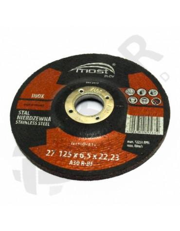 9421412500 - Lihvk MOST INOX 27 125*6.5*22 A30RBF