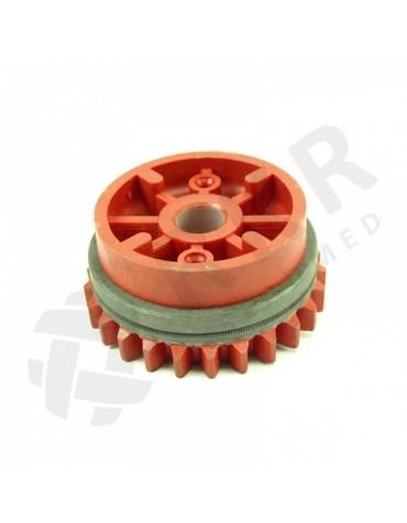 Veetav ratas D 1,0-1,2mm punane (rihv.)