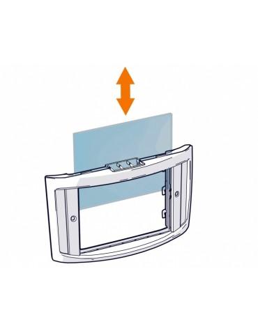 Gamma maski isetumeneva filtri SA 60 sisemine kaitseklaas (106.5 X 65.5)