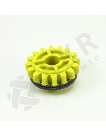 Traadirull kollane (alumine) rihvel W 1,4/1,6mm
