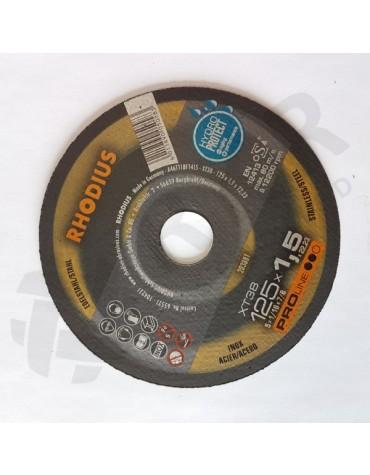 Rhodius XT 38 Lõikeketas 125*1,5 HydroProtect