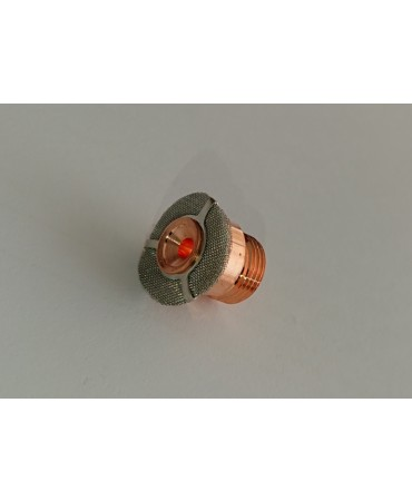 Gas saver adapter sõelaga väike 2.4mm