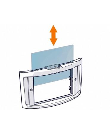 Gamma maski isetumeneva filtri XA 74 sisemine kaitseklaas (106.5 X 75)