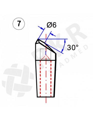 Punkt keevituselektrood No.7