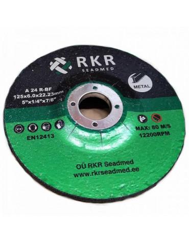 Lihvketas RKR Metal 41 125*6.0*22 A24R-BF