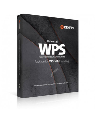 Kemppi universaalne WPS-pakett - MIG/MAG keevitusele (84 WPS-i)