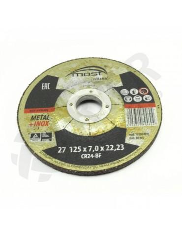 Lihvketas MOST CERAMIC Metal/Inox 27 125*7.0*22 CR24-BF
