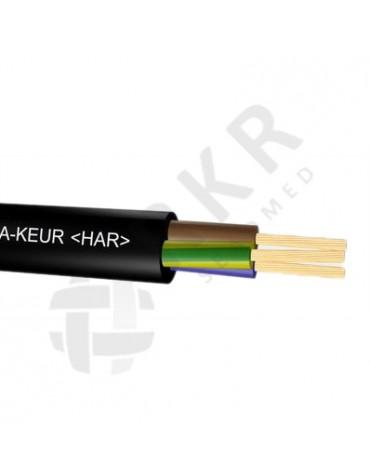 H05RR-F - Kummikaabel 3X1,5 mm²