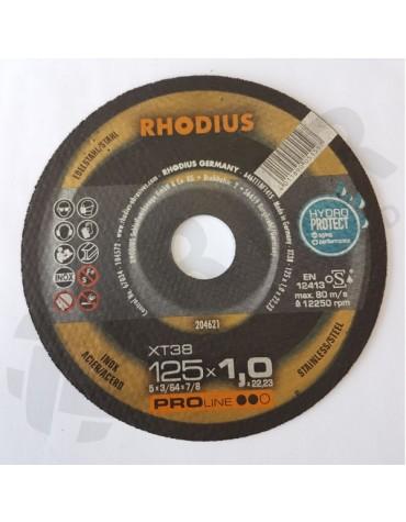 Rhodius XT 38 Lõikeketas 125*1,0 HydroProtect