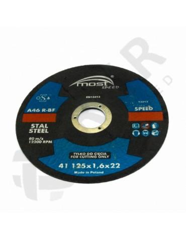 9414325160 - Lõikeketas MOST SPEED 41 125*1.6*22 A46RBF STAL