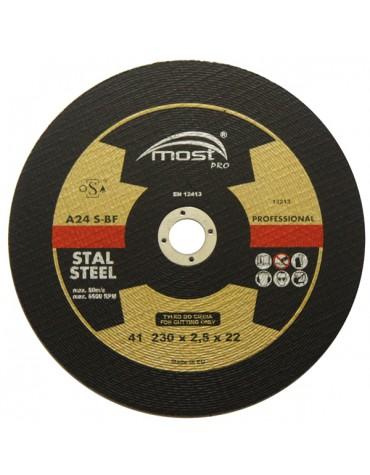 Lõikeketas MOST PRO Metal/Inox 41 125*1.0*22 A60T-BF