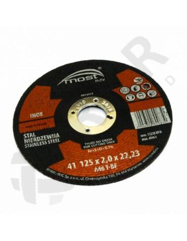 9416712500 - Lõikeketas MOST INOX 41 125*2.0*22 A46TBF