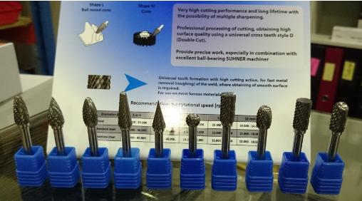 RKR SEADMED OÜ tootevalikusse on lisandunud kvaliteetsed MOST otsfreesid ja abrasiivid.