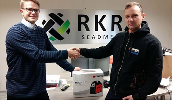 RKR Seadmed ja SPARK Makerlabi koostöö